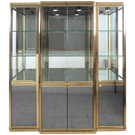 Display Cabinet Modern by Large Ornate Mahogany Display For Sale At 1stdibs