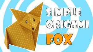 Origami Fox  Simple Origami Instructions