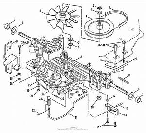 Snapper Lt160h42cbv2 42 U0026quot  16 Hp Hydro Drive Tractor Series C Parts Diagram For Transmission Group