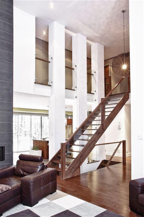 model house  custom built modern living room