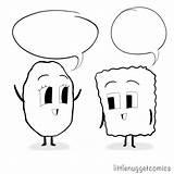 Coloring Sheet Nugget Comics Little Panel Lnc Bae Mad Conversation sketch template