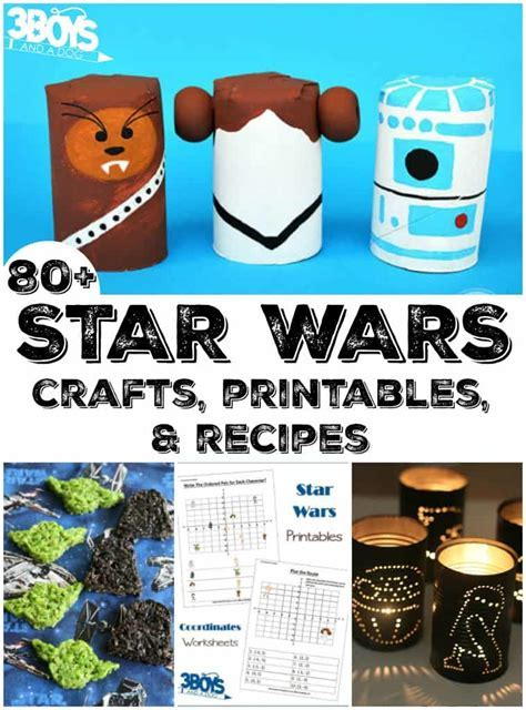Star Wars Crafts, Recipes, and Activities   3 Boys and a