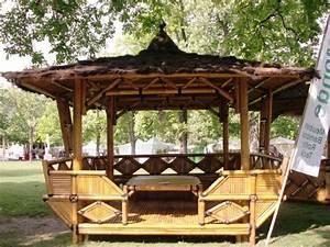 Salon De Jardin Bambou : vente mobilier abris jardin en bambou reprendre ~ Teatrodelosmanantiales.com Idées de Décoration