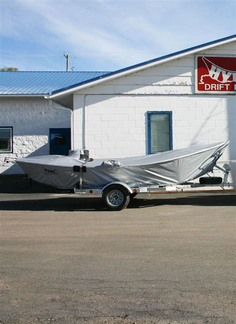 Used Hyde Drift Boat Cover drift boat cover