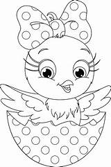 Chicken Coloring sketch template