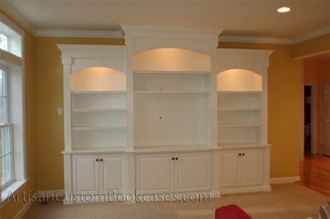 Custom Wall Unit Bookcases  Artisan Custom Bookcases