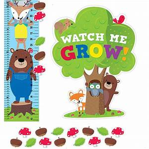 Woodland Friends Growth Chart - CTP6992 Creative