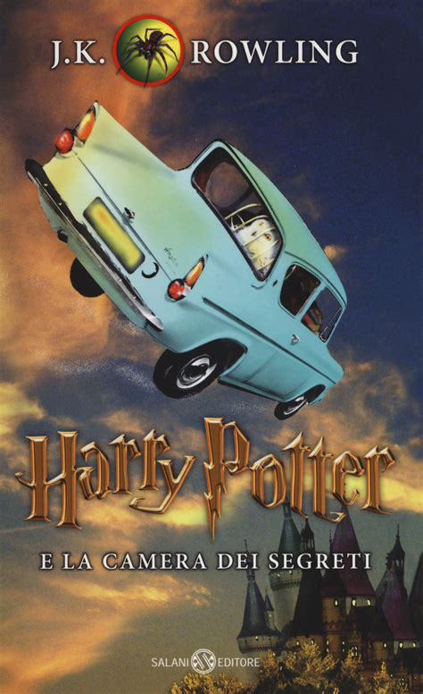 libro harry potter  la camera dei segreti     rowling