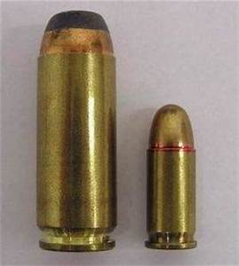 Is there a difference between a .50 caliber bullet that is ...