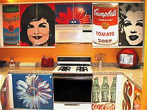 andy warhol art fan page With what kind of paint to use on kitchen cabinets for andy warhol wall art