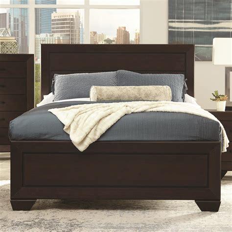 27010 coaster furniture beds coaster fenbrook transitional king bed value city
