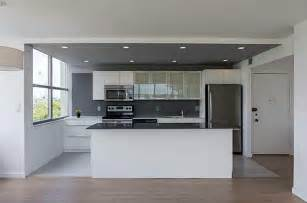 designer backsplashes for kitchens modern kitchen with one wall high ceiling in miami fl zillow digs zillow