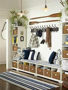la decoration marine en 50 photos inspirantes With nice meubles blancs style bord de mer 9 deco ethnique bleu