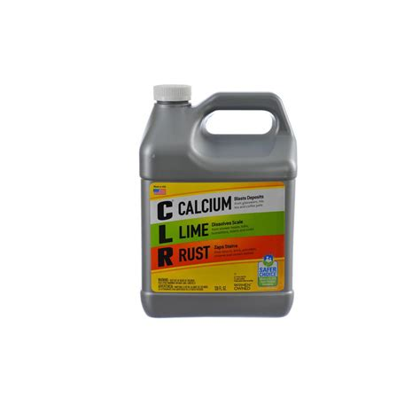 clr  gal calcium lime  rust remover cl p  home