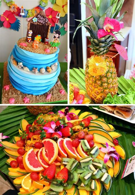 Kara's Party Ideas Luau Party Planning Ideas Supplies Idea