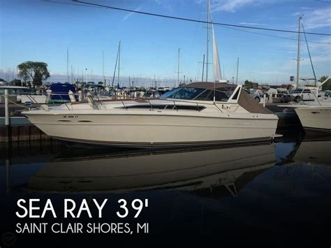 Used Sea Ray Boats In Michigan by Sea Ray Boats For Sale In Michigan Used Sea Ray Boats