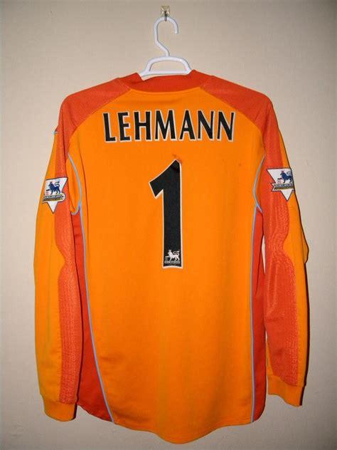 Arsenal Goalkeeper football shirt 2003 - 2004. Sponsored by O2