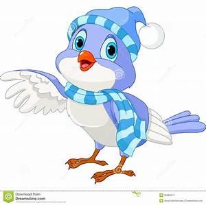 Cute Winter Bird Clipart - Clipart Suggest