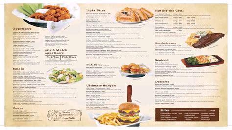 Carte De Menu Restaurant Pdf by Restaurant Menu Pdf