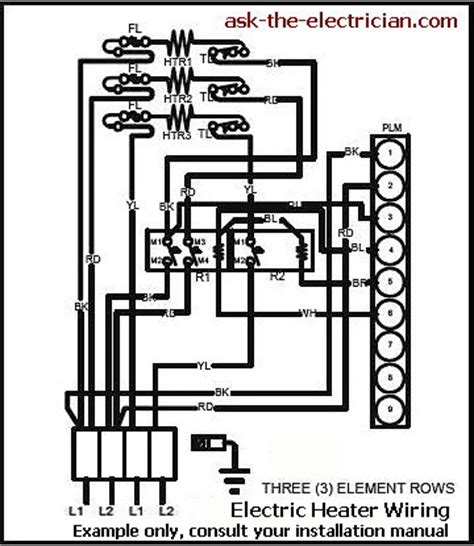 Water Heater 220 Volt Wiring Diagram by 208 Single Phase Wiring Diagram Heat Wiring Diagram
