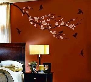 Bedroom wall design creative decorating ideas interior