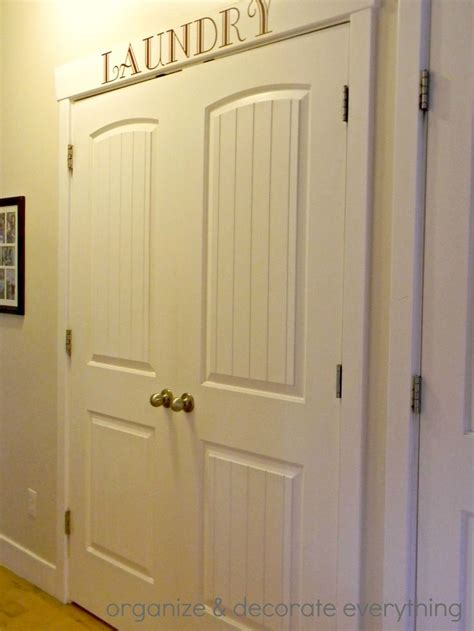 25 best ideas about laundry room doors on