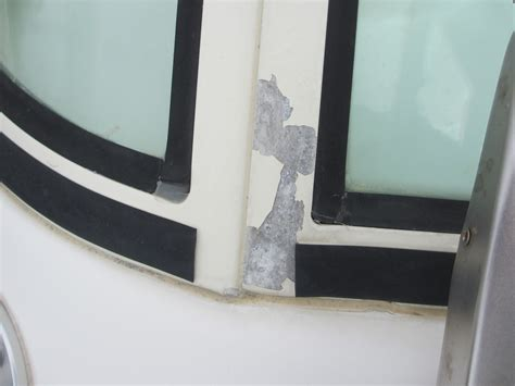 Boat Windshield Frame Paint by Paint Aluminum Windscreen The Hull Boating And