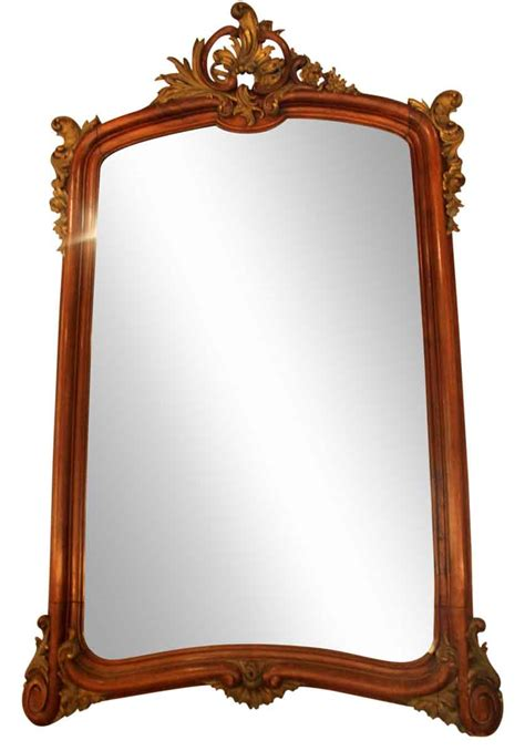 Large Carved French Wall Mirror  Olde Good Things. Rustic Style. Coral Curtains. San Francisco Photographers. Bathroom Remodels Ideas. Contemporary Sectionals. White Risers. Living Room. Woodworking Contractor