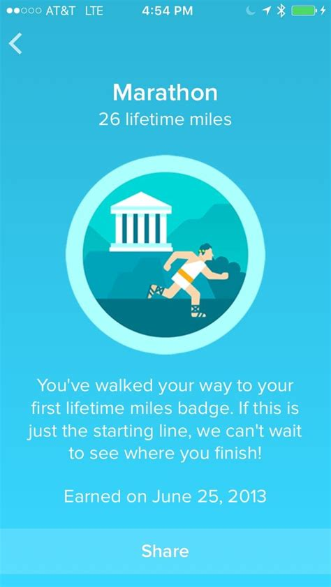 fitbit badges badge app fitness distance tracker lifetime step walking developgoodhabits ultimate achievements floor way miles flex