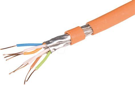 cat 7 kabel 100m 4x2 awg23 100d cat 7 verlegekabel s ftp pimf 100m draka bei reichelt elektronik