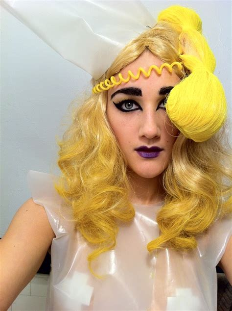 lady gaga telephone waitress costume halloween