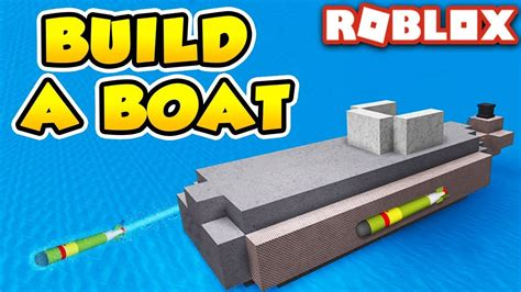 Build A Boat by Simple Submarine In Build A Boat For Treasure Roblox