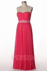 Robe Rose Pale Demoiselle D Honneur : robe rose bustier pliss e longue pour demoiselle d 39 honneur ~ Preciouscoupons.com Idées de Décoration