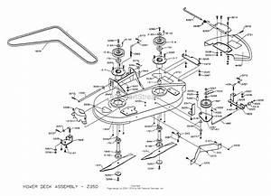 Dixon Ztr 3362  1996  Parts Diagram For Mower Deck Assembly