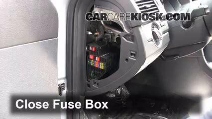 interior fuse box location   volkswagen passat