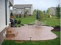 perfect patio design ideas concrete stamped concrete patio designs | Concrete, patio ideas ...