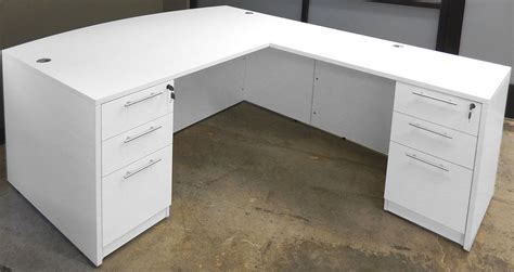 white l shaped desk with drawers l shaped desk with drawers glass front mocha conference