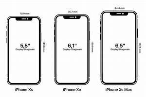 Maße Iphone 6 : iphone xs xs max und xr im gr en vergleich mobildiscounter news ~ Markanthonyermac.com Haus und Dekorationen