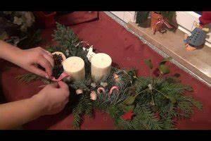 Adventsgestecke Selber Machen : video blumengestecke selber machen anleitung f r gestecke zur weihnachtszeit ~ Frokenaadalensverden.com Haus und Dekorationen