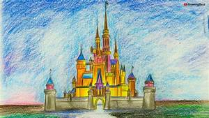 How To Draw A Disney Castle Step By Step