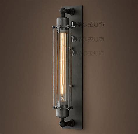 loft vintage wrought iron wall lights europe american