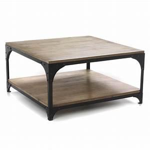 Table Alinea Bois : table basse beton cire alinea le bois chez vous ~ Teatrodelosmanantiales.com Idées de Décoration