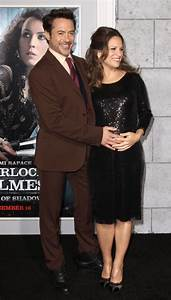 Robert Downey JR Glows With His Pregnant Wife Susan ...