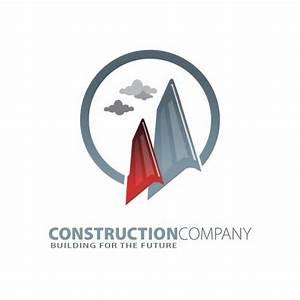 Construction Company Logo Design - TemplatesBox.com