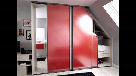 armoire bureau porte coulissante placards portes coulissantes bureau lits sous pente