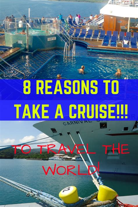 8 Reasons To Take A Cruise!  Benefits Of Cruising To