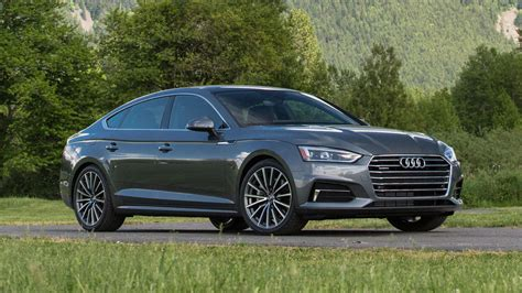 2018 Audi A5 And S5 Sportback First Drive Hatchbacks Are
