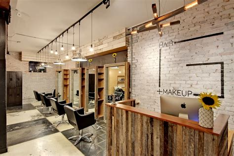 makeup hair salon hair salon retail design