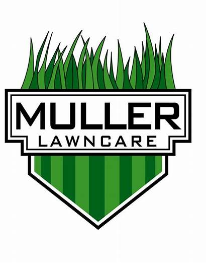 Lawn Logos Care Business Landscaping Mower Vector