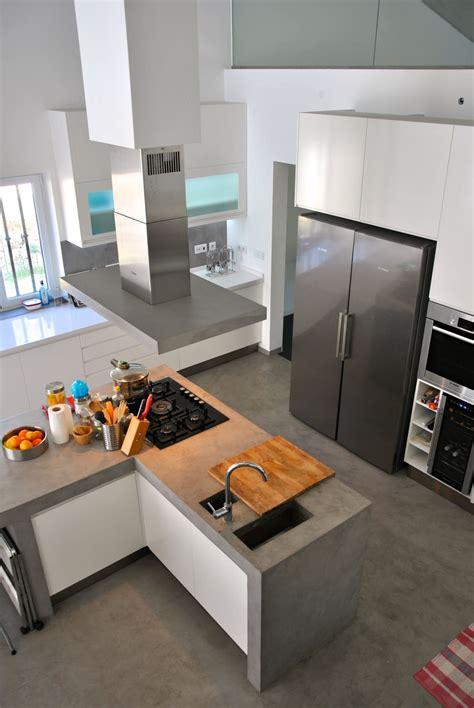 cozinhas de concreto perfeitas   sua casa